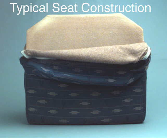 typical seat construction